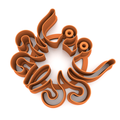 LMM.png Download STL file Cookie cutter - Flying Spaghetti Monster 3D print model • Design to 3D print, slylis