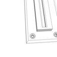 Free 3d printer designs Plastic mount bracket, Stephane62