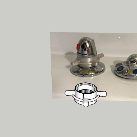 Free 3d print files Single Handle Shower Faucet, Stephane62