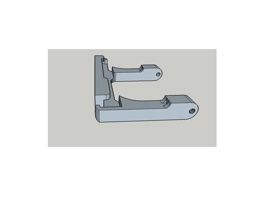 hero 3 clip .jpg Download free STL file Gopro Hero 3 Waterproof Case Clip • 3D print design, Stephane62