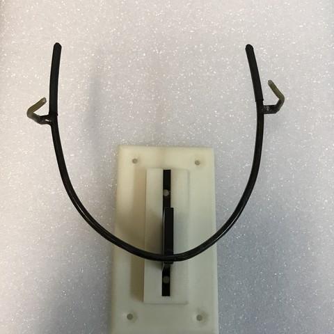 Download free STL file Plastic mount bracket • Object to 3D print, Stephane62