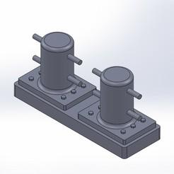 Descargar archivos 3D Bitte d'amarage, McFlyCustom