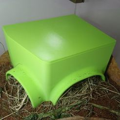 Download 3D print files Tortle House, roms2608