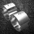 Download STL file Ultra modern two-finger strap • 3D printer model, plasmeo3d