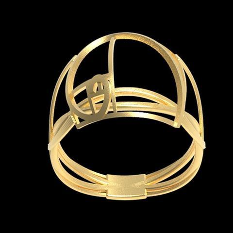 Download free 3D printer templates Fancy Fibonacci ring, plasmeo3d