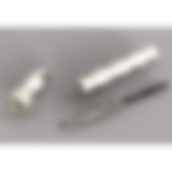 Download STL file Kubotan Space Pen • 3D printer template, plasmeo3d