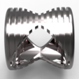 Download OBJ file 4 rings in 1 • Object to 3D print, plasmeo3d