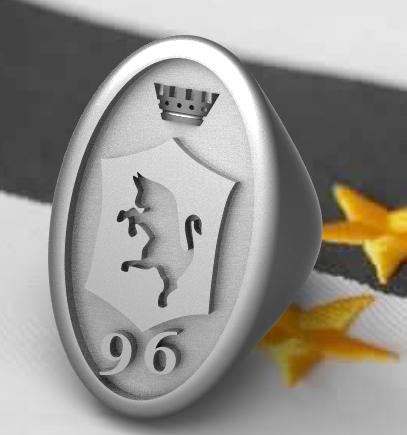 juve1996-vintage-ring.PNG Download OBJ file Knight Juventus 1996 Vintage Edition • 3D print model, plasmeo3d