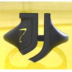 Imprimir en 3D Anillo Juventus 7ª Edición, plasmeo3d