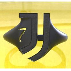 3D printing model Juventus Ring 7th Edition, plasmeo3d