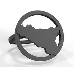 Descargar modelo 3D Sello de Sicilia, plasmeo3d