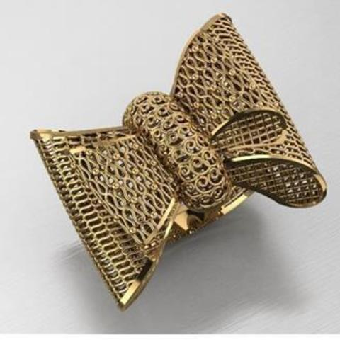 3D printer files Knot ring, plasmeo3d