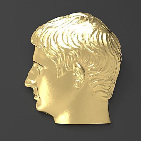 Download 3D printing models Augustus Emperor During, plasmeo3d