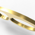 Download STL file Classic 3-finger Ring • 3D printer model, plasmeo3d