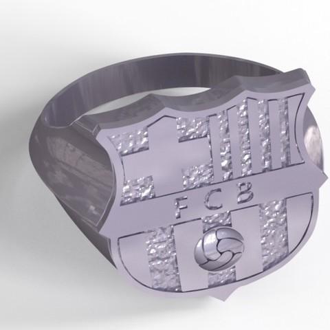 Fichier impression 3D Barcelona ring , plasmeo3d