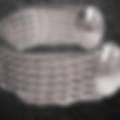 Descargar diseños 3D correa hexagonal 2, plasmeo3d