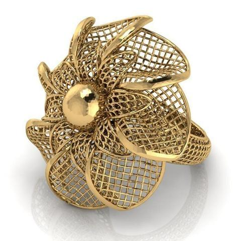 3d printer model Flower ring 3, plasmeo3d