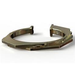 Download 3D printing models Octagonal bracelet, plasmeo3d