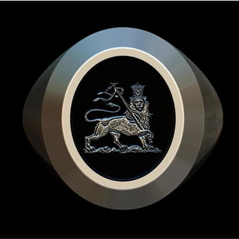 3D printing model Lion of Judah ring, plasmeo3d