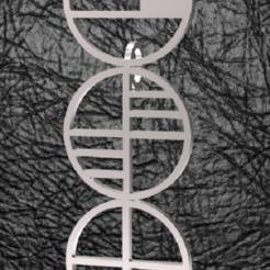 Bauhaus-Pendant.PNG Download STL file Bauhaus pendant • 3D printer template, plasmeo3d