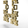 Download OBJ file Fractal pendant • Object to 3D print, plasmeo3d