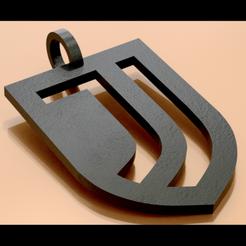 1JjPInsta3.png Télécharger fichier STL Juve Pendant  • Design pour impression 3D, plasmeo3d