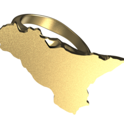sicily ring new.png Download STL file sicily ring -new • Model to 3D print, plasmeo3d