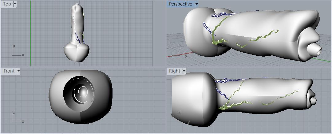 Capture - Copie.PNG Download OBJ file Gender male dogue German realistic • Template to 3D print, plasmeo3d