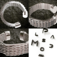 Impresiones 3D pulsera hexagonal, plasmeo3d