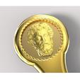Download STL file Functional facsimile of a Roman pugio • 3D printer template, plasmeo3d