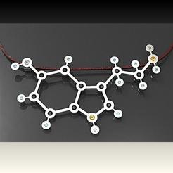 Download 3D printing models serotonin during, plasmeo3d