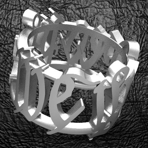 Download STL file We The People Signet 2 • 3D printer design, plasmeo3d