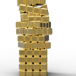 Download 3D printing designs Crazy cubes pendant, plasmeo3d