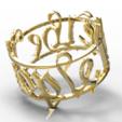 Download STL file We The People Signet • Model to 3D print, plasmeo3d