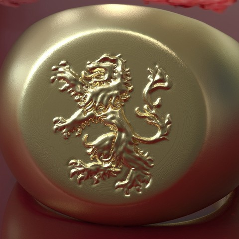 3d model Ring of the Arms of Brabant, plasmeo3d