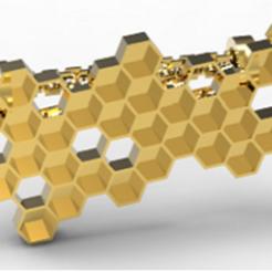 Télécharger plan imprimante 3D Pendentif Ruche, plasmeo3d