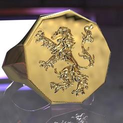 stl files Duke of Brabant's armed ring, plasmeo3d