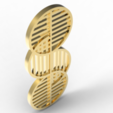 Download OBJ file Bauhaus pendant 2 • 3D printable template, plasmeo3d