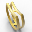 Download OBJ file Single ring double • 3D printer model, plasmeo3d