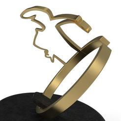Canvandoli's Linea ring 3D printer file, plasmeo3d