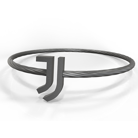 Download STL file Juventus bracelet • Template to 3D print, plasmeo3d