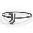 Descargar archivos STL pulsera de la Juventus, plasmeo3d