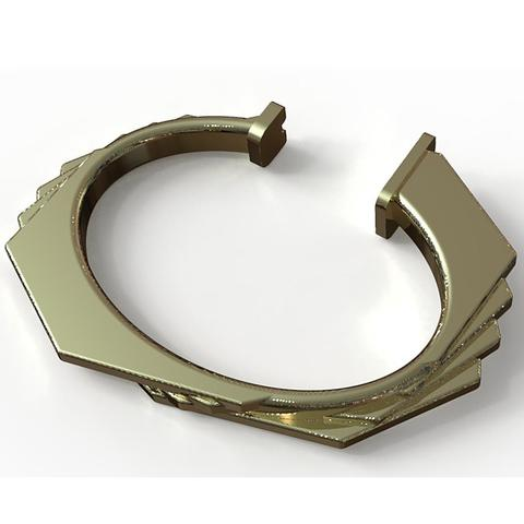 ob21.jpg Download STL file Octagonal bracelet • 3D printer design, plasmeo3d