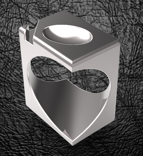 cube-ovoide-ring.PNG Download STL file Signature Cube Ovoid • 3D printer design, plasmeo3d