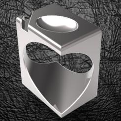 STL Signature Cube Ovoid, plasmeo3d