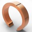 Descargar diseños 3D pulsera de tubo, plasmeo3d