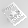 Download OBJ file Ring Inter de Milan 2 • 3D print template, plasmeo3d