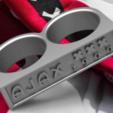 Download OBJ file Ajax Amsterdam Fan Ring Vintage Edition • 3D print design, plasmeo3d