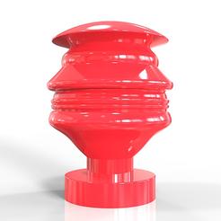modèle 3d Buste futuriste de Donald Trump, plasmeo3d