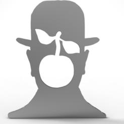 Télécharger plan imprimante 3D Pendentif Magritte 2, plasmeo3d